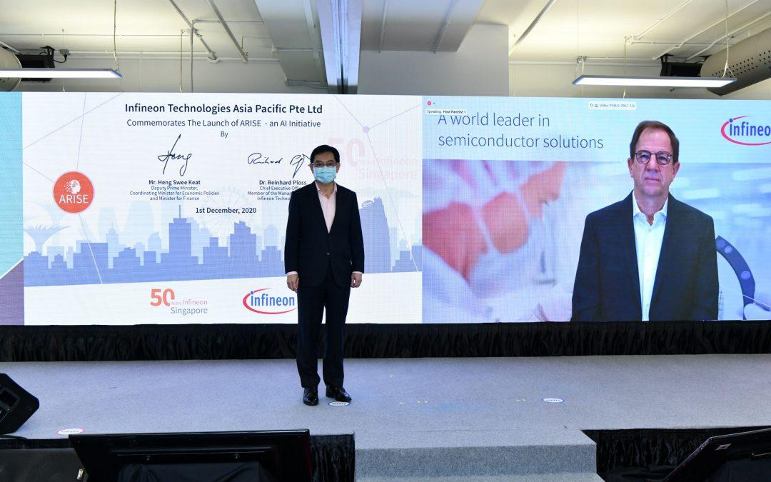Infineon to make Singapore its global AI innovation hub by 2023